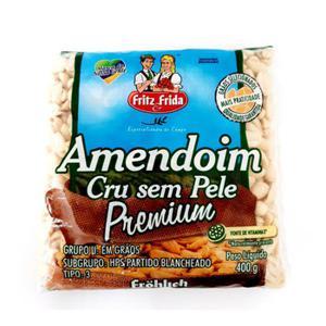 Amendoim Cru S Pele Fritz Frida 400G
