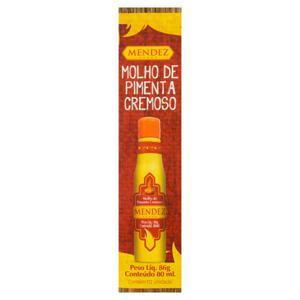 Molho de Pimenta Cremoso Mendez Frasco 80ml