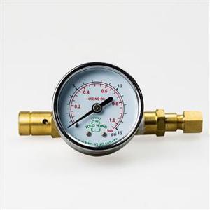 Válvula de Alívio de Pressão e Manômetro Indicativo