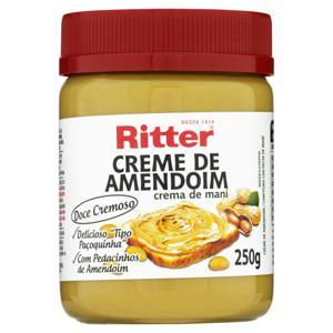 Creme de Amendoim Ritter Pote 250g