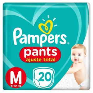 Fralda Pampers Pants M 20Un