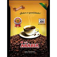 Cafe Arabia Black Robusta Premium A Vacuo 500G Pacote