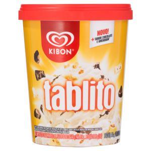 Sorvete Baunilha Tablito Kibon Pote 800ml