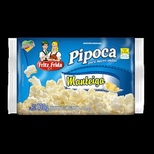 Pipoca Fritzefrida Micro.100G Manteiga