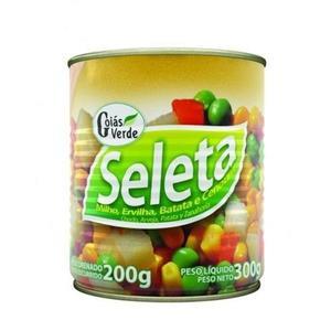 Seleta de Legumes GOIÁS VERDE Lata 200g