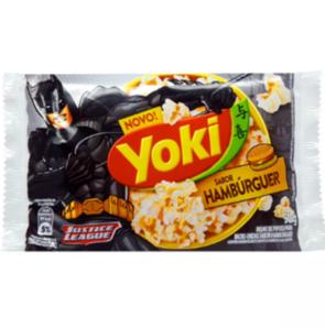 Pipoca de Microondas YOKI Hambúrguer 50g