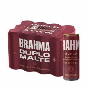 Cerveja Brahma Duplo Malte 350Ml Lata Caixa/12