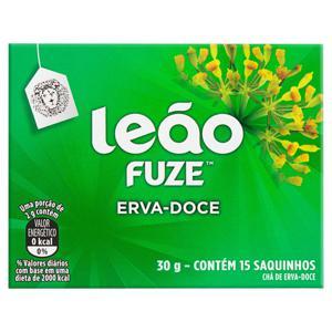 Chá Erva-Doce Leão Fuze Caixa 30g 15 Unidades
