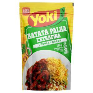 Batata Palha Extrafina Cebola e salsa Yoki Pacote 120g