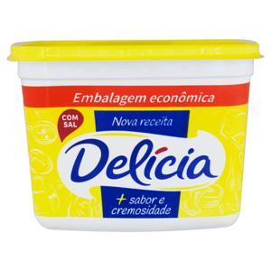 Margarina com Sal Delícia + Sabor e Cremosidade Pote 1kg Embalagem Econômica