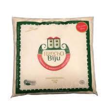 Farinha de mandioca crua (500g) - Rancho Biju