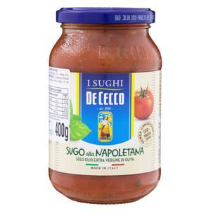 Molho de Tomate Manjericão De Cecco Vidro 400g