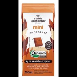 Mini Bebida A Tal Da Castanha Chocolate Organico 200Ml