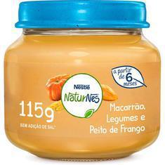 Alimento Infantil 115G Nestlé Frango, Legumes e Macarrão
