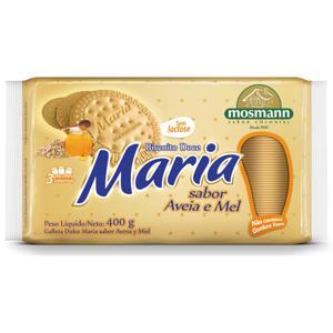 Bisc Mosmann 400G Maria  Aveia E Mel