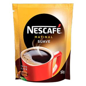 Café Solúvel Suave Nescafé Matinal Sachê 50g