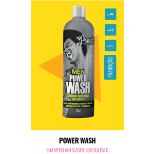 Shampoo 315ml Soul Power Men