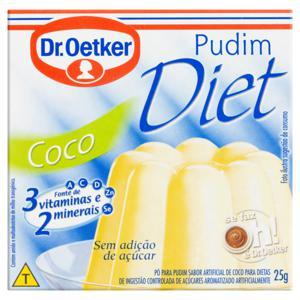 Pó para Pudim Diet Coco Dr. Oetker Caixa 25g