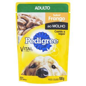 Alimento para Cães Adultos Frango ao Molho Pedigree Vital Pro Sachê 100g