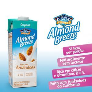 Bebida de Amêndoas Almond Breeze Original 1L