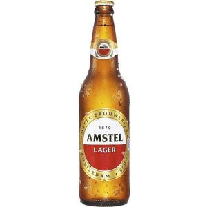 Cerveja AMSTEL Puro Malte Garrafa 600ml