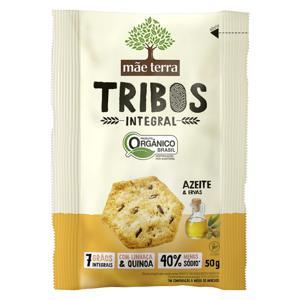 Biscoito Integral Orgânico Azeite & Ervas Mãe Terra Tribos 50g