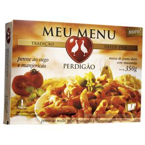 Penne ao Pomodoro e Manjericão Meu Menu PERDIGÃO Caixa 350g