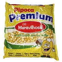 Milho de Pipoca Premium MARAVILHOSA 400g