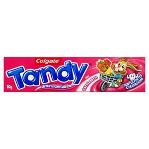 Gel Dental Infantil com Flúor Tutti Frutti Colgate Tandy Caixa 50g