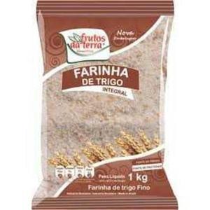 Farinha de Trigo FRUTOS DA TERRA Integral 1Kg