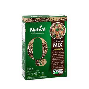 Quinoa mix de grãos orgânica (vermelha/preta/branca) - 200g