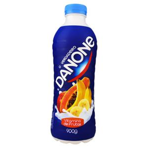 Iogurte Integral Vitamina de Frutas Danone Garrafa 900g