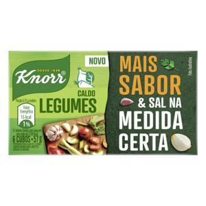 Caldo em Tablete Legumes Knorr Caixa 57g 6 Unidades