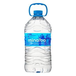 Água Mineral Natural sem Gás Minalba Galão 5l