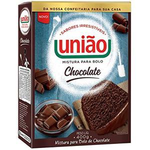Mistura Para Bolo Uniao 400G Pacote Chocolate