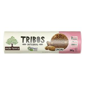 Biscoito Integral Orgânico Cacau Mãe Terra Tribos 130g