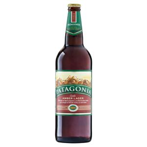 Cerveja Amber Lager Patagonia Garrafa 740ml