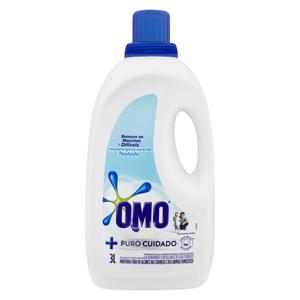 Lava-Roupas Líquido Omo Puro Cuidado Galão 3l