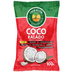 Coco & Cia Ralado Úmido 100G
