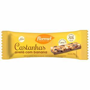Barra de Banana com Avelã com Chocolate Zero Flormel 27g
