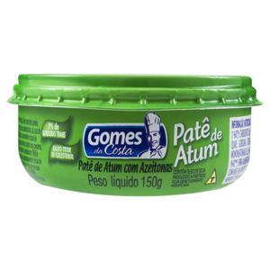 Patê de Atum com Azeitonas Gomes da Costa Pote 150g