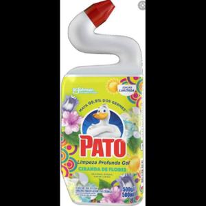 Desinfetante Pato 500ml Gel Limpeza Profunda Ciranda de Flores