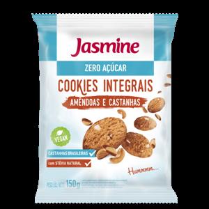Cookies Jasmine Sem Açúcar Amêndoas e Castanhas 150g