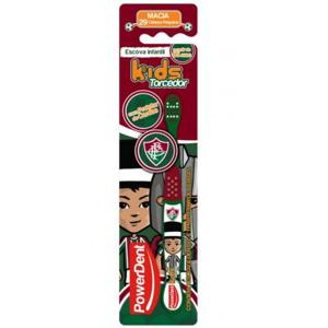 Escova Dental POWERDENT Torcedor Kids Fluminense