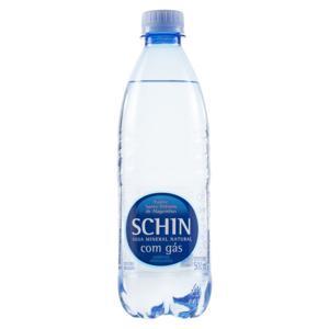 Água Mineral Natural com Gás Schin Garrafa 500ml