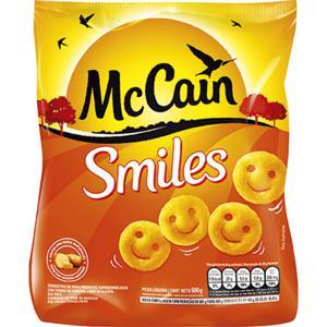 Batata Congelada MCCAIN Smiles Pacote 500g