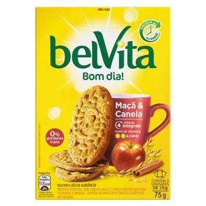Biscoito Integral Maçã & Canela Belvita 75g