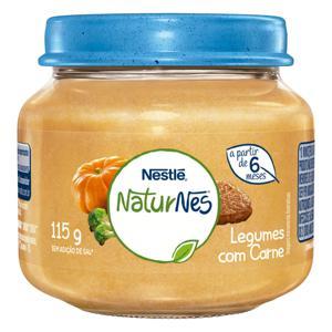 Sopinha Legumes com Carne Nestlé Naturnes Vidro 115g