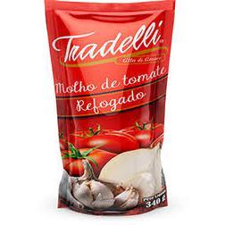 Molho Tomate Tradelli 340G Refogado