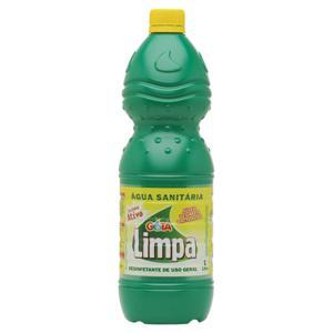 Agua Sanit Gota Limpa 1L C/ Cloro Ativo